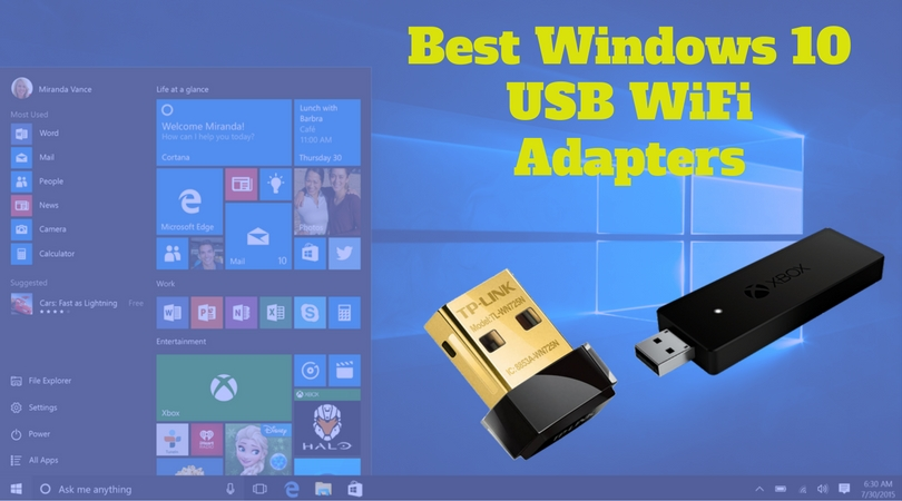 Best Windows 10 USB WiFi Adapters