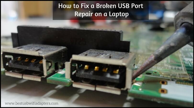 How to Fix a Broken USB Port