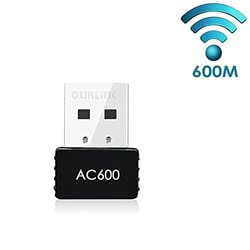 Glam Hobby AC600 Dual Band USB Wireless Adapter for Gaming